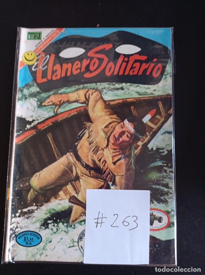 EL LLANERO SOLITARIO # 263 (Tebeos y Comics - Novaro - El Llanero Solitario)