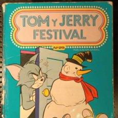Tebeos: LIBRO TON Y JERRY FESTIVAL Nº 29, 1980, MUY RARO. Lote 250339570