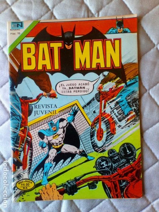 BATMAN Nº 889 SÉRIE ÁGUILA NOVARO (Tebeos y Comics - Novaro - Batman)