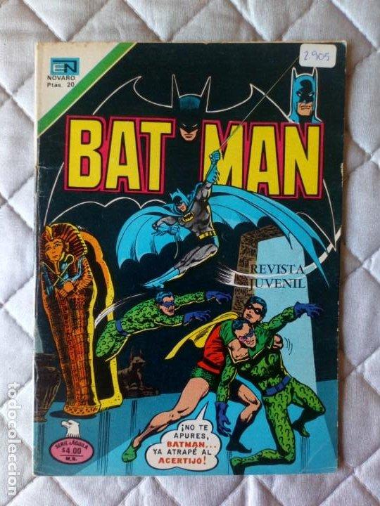 BATMAN Nº 905 SÉRIE ÁGUILA NOVARO (Tebeos y Comics - Novaro - Batman)