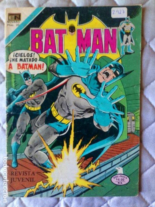 BATMAN Nº 927 SÉRIE ÁGUILA NOVARO (Tebeos y Comics - Novaro - Batman)