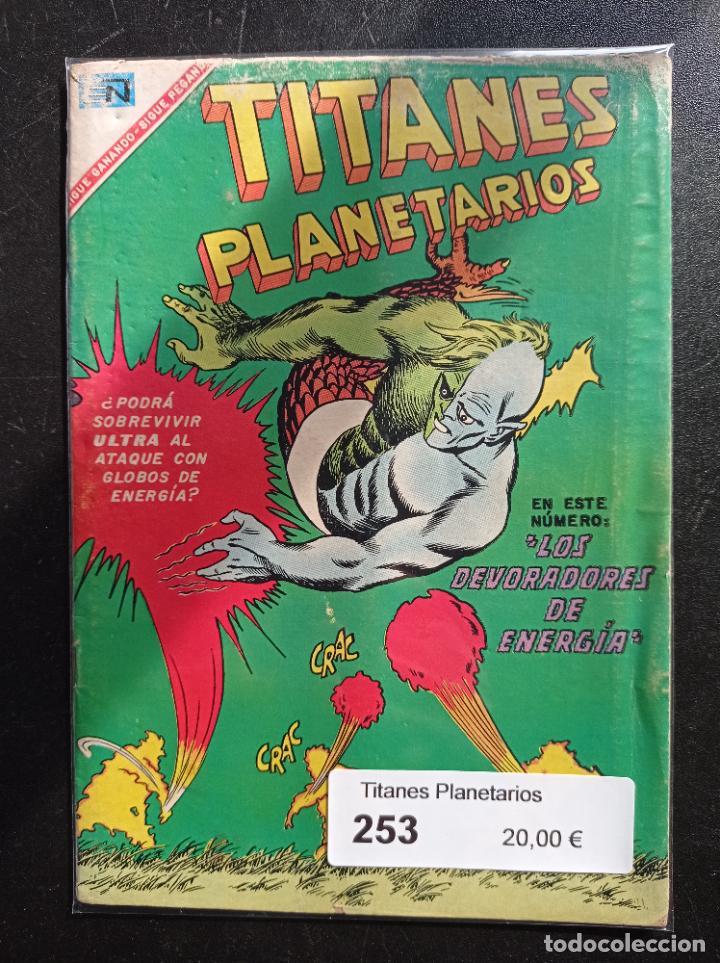 TITANES PLANETARIOS 253 (Tebeos y Comics - Novaro - Sci-Fi)