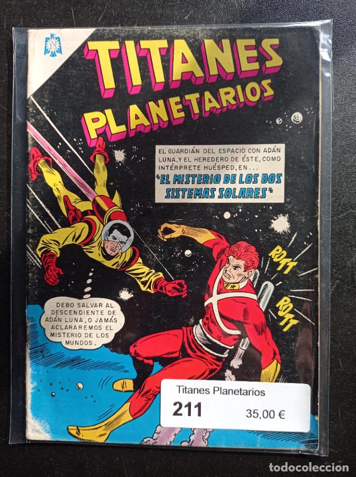 TITANES PLANETARIOS 211 (Tebeos y Comics - Novaro - Sci-Fi)
