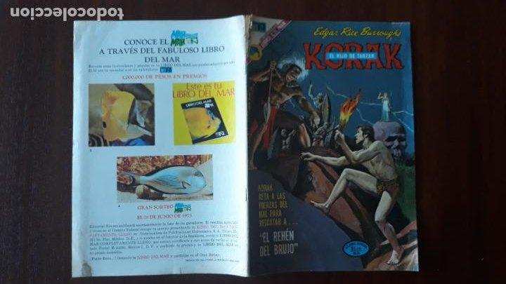 KORAK EL HIJO DE TARZAN NOVARO Nº 11 (Tebeos y Comics - Novaro - Tarzán)