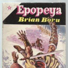 Tebeos: EPOPEYA 40: BRIAN BORU, 1961, NOVARO, MUY BUEN ESTADO. COLECCIÓN A.T.. Lote 251919100