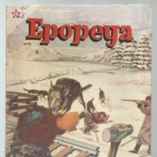 Tebeos: EPOPEYA 39: EL FERROCARRIL TRANSIBERIANO 1961, NOVARO, BUEN ESTADO. COLECCIÓN A.T.. Lote 251919170