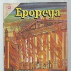 Tebeos: EPOPEYA 37: EL TEMPLO DE DIANA EN ÉFESO, 1961, NOVARO, BUEN ESTADO. COLECCIÓN A.T.. Lote 251919290