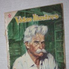 Tebeos: VIDAS ILUSTRES Nº 49 - SCHWEITZER, MEDICO DE LA SELVA - AÑO 1959 - ED. NOVARO .. Lote 251946270