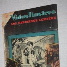 Tebeos: VIDAS ILUSTRES Nº 6 - LOS HERMANOS LUMIERE - PRECURSORES DEL CINEMATOGRAFO, 1956 - ED. NOVARO .. Lote 251946655