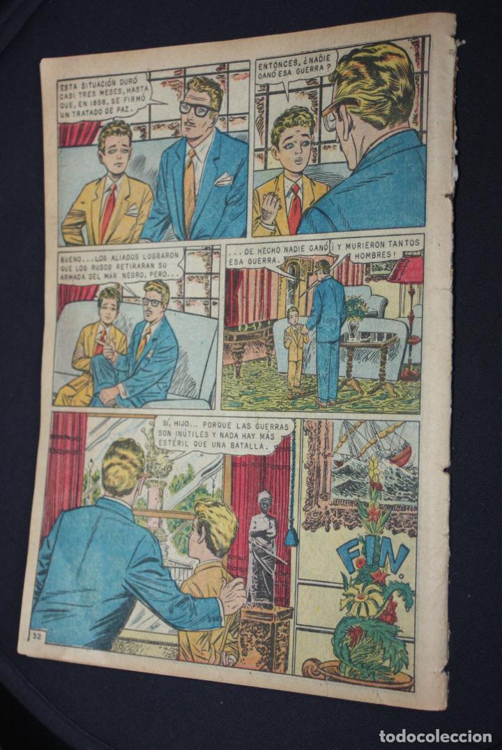Tebeos: EPOPEYA # 24 NOVARO 1960 LA CARGA DE LOS 600( LA GUERRA RUSO-TURCA) - Foto 2 - 251947980