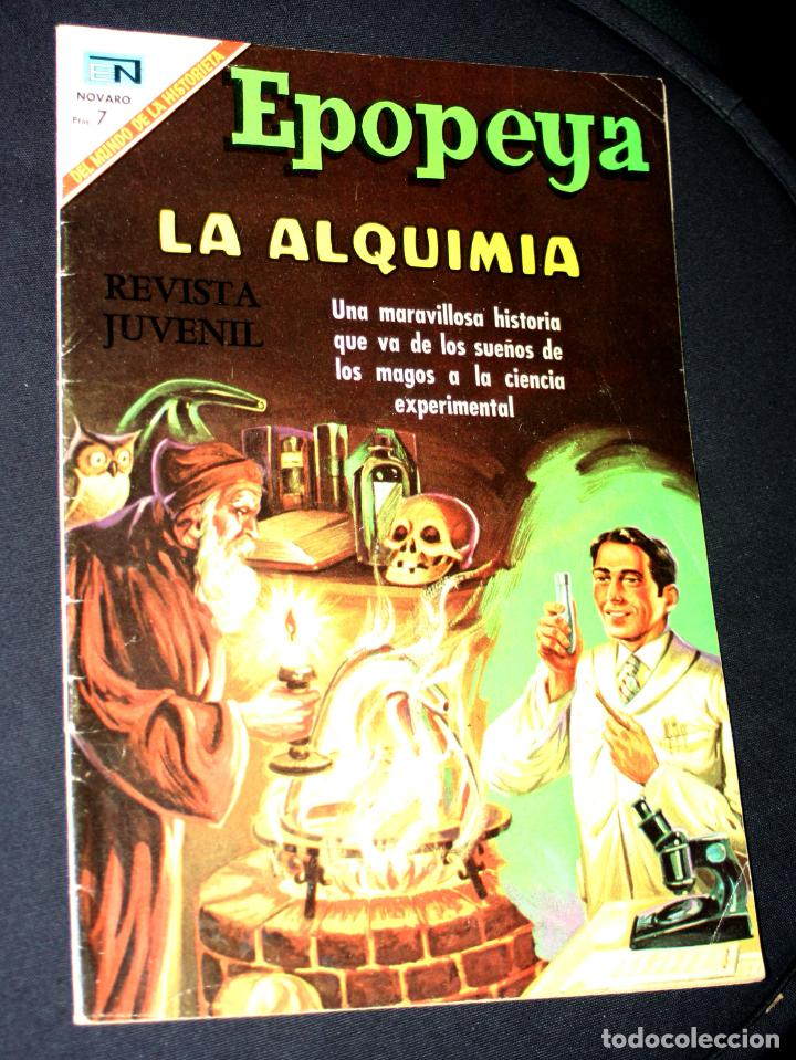 EPOPEYA LA ALQUIMIA Nº 131- 1969 - EDITORIAL NOVARO (Tebeos y Comics - Novaro - Epopeya)