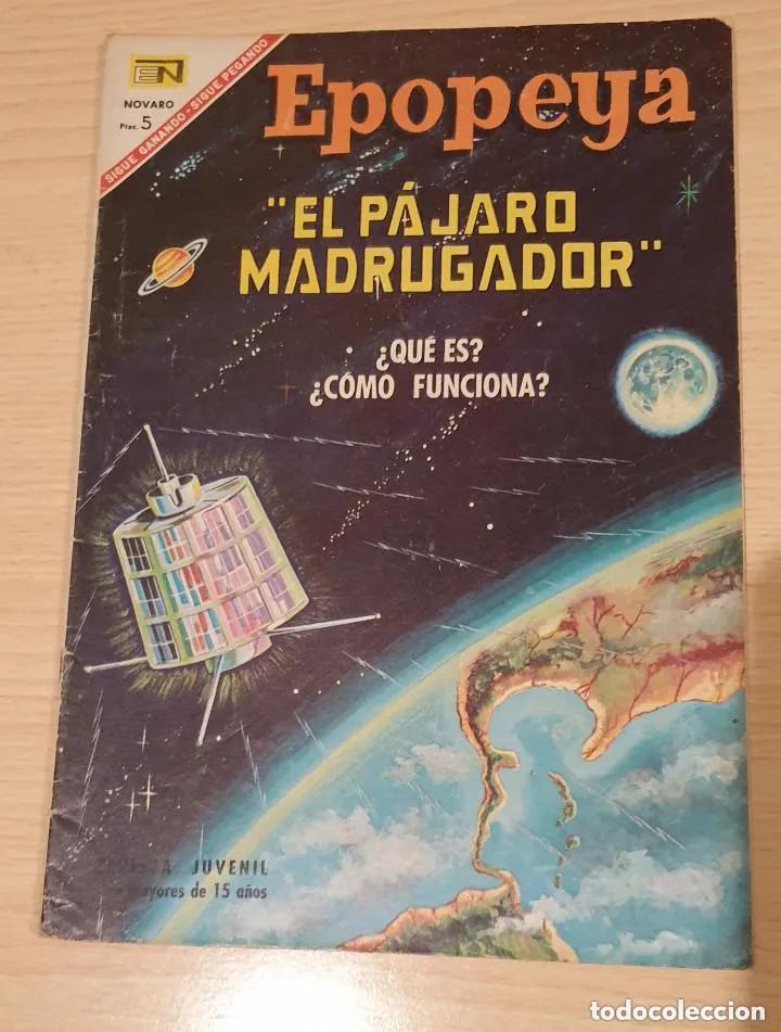 Tebeos: Epopeya, El Pájaro Madrugador, Nº 107. Año 1967 - Editorial Novaro - Foto 2 - 251974965
