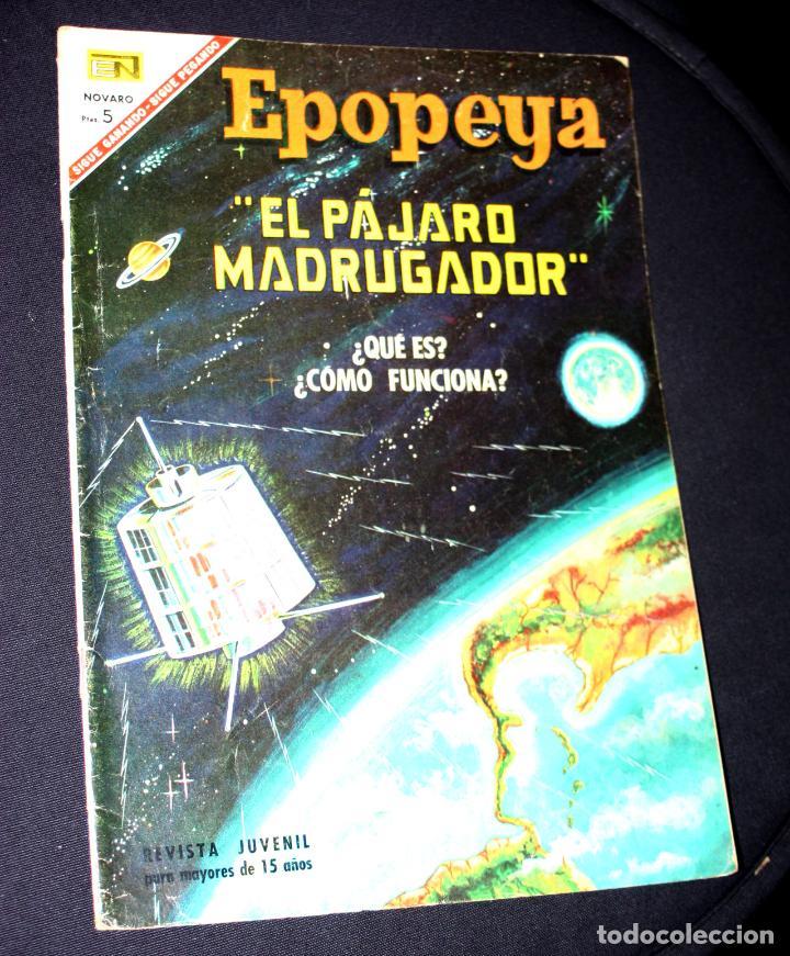 EPOPEYA, EL PÁJARO MADRUGADOR, Nº 107. AÑO 1967 - EDITORIAL NOVARO (Tebeos y Comics - Novaro - Epopeya)