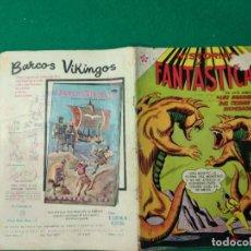 Tebeos: HISTORIAS FANTASTICAS Nº 61 15 DE AGOSTO DE 1962 EDITORIAL NOVARO.. Lote 252296535