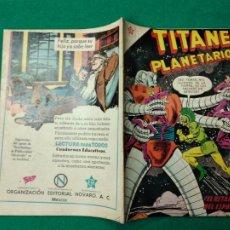 Tebeos: TITANES PLANETARIOS Nº 113. 1 DE JUNIO 1961. EDICIONES RECREATIVAS DE EDITORIAL NOVARO.. Lote 252299625