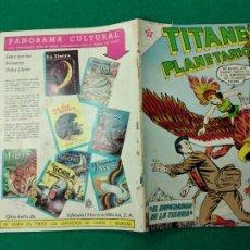 Tebeos: TITANES PLANETARIOS Nº 144. 15 DE SEPTIEMBRE DE 1962. EDICIONES RECREATIVAS DE EDITORIAL NOVARO.. Lote 252301615