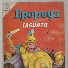 Tebeos: EPOPEYA 85: SAGUNTO, 1965, NOVARO, BUEN ESTADO. Lote 252448300
