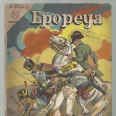 Tebeos: EPOPEYA 69: WATERLOO, LA DERROTA DE NAPOLEÓN, 1964, NOVARO. Lote 252448750