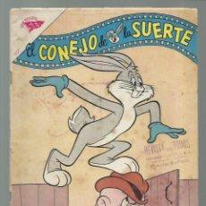 Tebeos: EL CONEJO DE LA SUERTE 155, 1962, NOVARO, BUEN ESTADO. COLECCIÓN A.T.. Lote 252510100