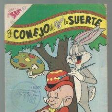 Tebeos: EL CONEJO DE LA SUERTE 107, 1959, NOVARO, BUEN ESTADO. COLECCIÓN A.T.. Lote 252510640