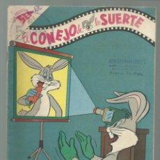 Tebeos: EL CONEJO DE LA SUERTE 106, 1959, NOVARO, BUEN ESTADO. COLECCIÓN A.T.. Lote 252510840