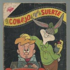 Tebeos: EL CONEJO DE LA SUERTE 85, 1957, NOVARO. COLECCIÓN A.T.. Lote 252511030