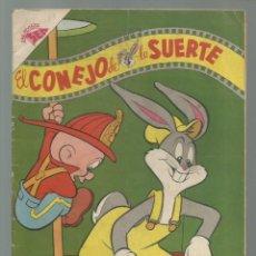 Tebeos: EL CONEJO DE LA SUERTE 82, 1957, NOVARO, BUEN ESTADO. COLECCIÓN A.T.. Lote 252511280