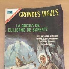 Tebeos: GRANDES VIAJES. Nº 48. NOVARO 1967. LA ODISEA DE GUILLERMO DE BARENTZ.. Lote 252512140