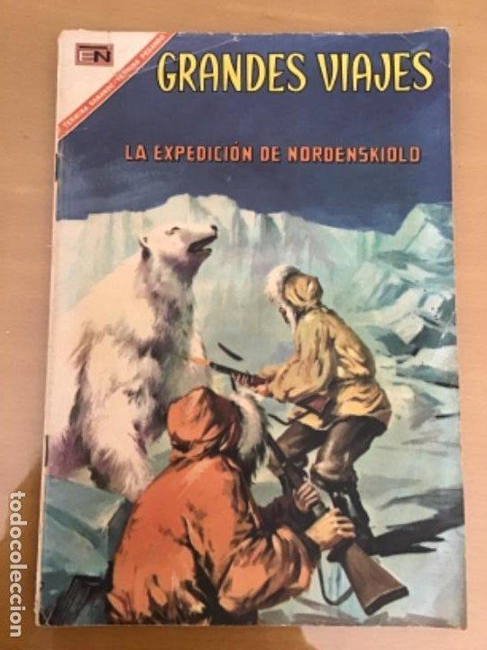 GRANDES VIAJES. Nº 56. NOVARO 1967. LA EXPEDICION DE NORDENSKIOLD. (Tebeos y Comics - Novaro - Grandes Viajes)