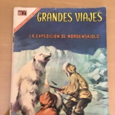 Tebeos: GRANDES VIAJES. Nº 56. NOVARO 1967. LA EXPEDICION DE NORDENSKIOLD.. Lote 252513155