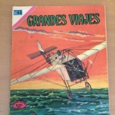 Livros de Banda Desenhada: GRANDES VIAJES. Nº 97. NOVARO 1971. BLERIOT SOBRE EL CANAL DE LA MANCHA. AVIACION. Lote 252514790