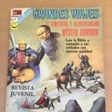Livros de Banda Desenhada: GRANDES VIAJES. Nº 115. NOVARO 1972. EL SINIESTRO Y DESVENTURANDO MISTER GORDON.. Lote 252515635