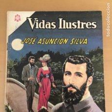 Tebeos: VIDAS ILUSTRES. Nº 132. NOVARO 1966. JOSE ASUNCION SILVA. POETA.. Lote 252516175