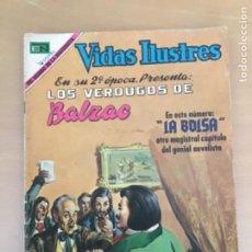 Tebeos: VIDAS ILUSTRES. Nº 222. NOVARO 1969. LOS VERDUGOS DE BALZAC.. Lote 252518080