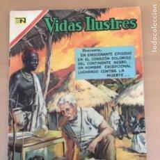 Tebeos: VIDAS ILUSTRES. Nº 245. NOVARO 1970. ALBERT SCHWEITZER. MEDICO DE LA SELVA. Lote 252521180