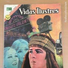 Tebeos: VIDAS ILUSTRES. Nº 283. NOVARO 1972. RODOLFO VALENTINO.. Lote 252522365