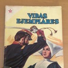 Tebeos: VIDAS EJEMPLARES. Nº 114. NOVARO 1961. SANTA CATALINA DE LABOURE. Lote 252559915