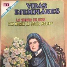 Tebeos: VIDAS EJEMPLARES. Nº 283. NOVARO 1968. SOR MARIA DE JESUS MOLINA. LA ROSA DEL GUAYAS. Lote 252563005