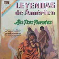 Tebeos: LEYENDAS DE AMERICA. Nº 157. NOVARO, 1969 - LAS TRES FUENTES. LEYENDA CHILENA. CHILE. Lote 252574430