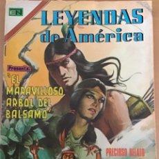 Tebeos: LEYENDAS DE AMERICA. Nº 234. NOVARO, 1974 - EL MARAVILLOSO ARBOL DEL BALSAMO. EL SALVADOR.. Lote 252574540