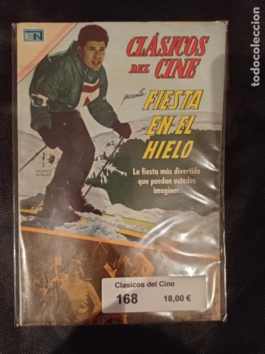 CLÁSICOS DE CINE #168 NOVARO (Tebeos y Comics - Novaro - Otros)