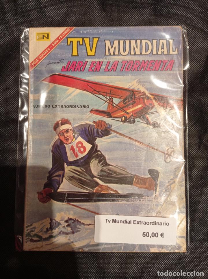 TV MUNDIAL NUMERO EXTRAORDINARIO NOVARO (Tebeos y Comics - Novaro - Otros)