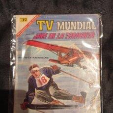 Tebeos: TV MUNDIAL NUMERO EXTRAORDINARIO NOVARO. Lote 252703665