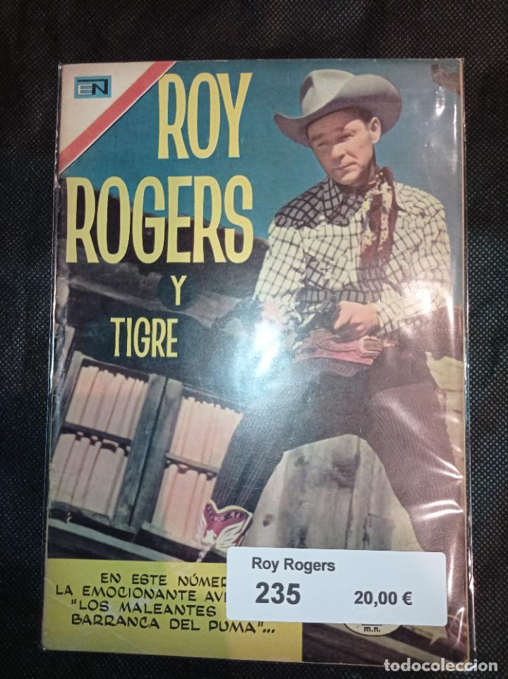ROY ROGERS #235 NOVARO (Tebeos y Comics - Novaro - Roy Roger)