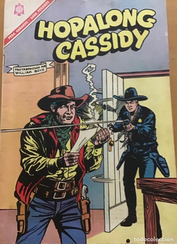 HOPALONG CASSIDY. Nº 144. NOVARO, 1966. (Tebeos y Comics - Novaro - Tarzán)