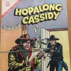 Tebeos: HOPALONG CASSIDY. Nº 144. NOVARO, 1966.. Lote 252715120
