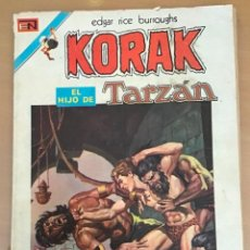 Tebeos: KORAK EL HIJO DE TARZAN. Nº 1. NOVARO, 1975. NUMERO UNO. Lote 253009260