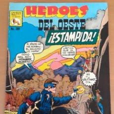 Tebeos: HEROES DEL OESTE. Nº 289. EDITORIAL LA PRESA - MEXICO. 1972. ¡ ESTAMPIDA ¡. Lote 253010250