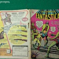 Tebeos: HISTORIAS FANTASTICAS Nº 67 1 DE NOVIEMBRE DE 1962. EDITORIAL NOVARO.. Lote 253241970