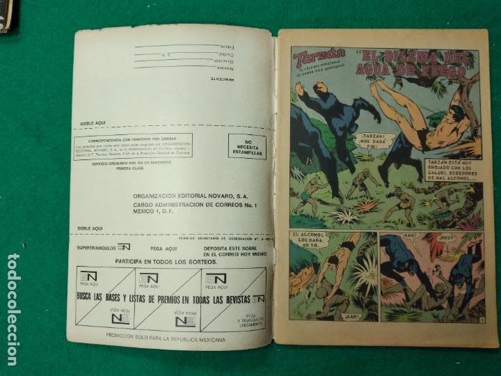 Tebeos: TARZAN DE LOS MONOS Nº 310. 7 SEPTIEMBRE 1972. EDITORIAL NOVARO - Foto 2 - 253244465